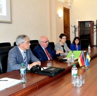 DFG President discussed future of science with ONU Rector