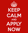 keep calm and apply now 123